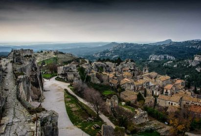 A medieval village in Provence
